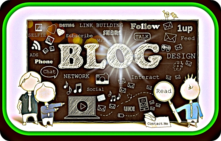 Words of Social Media and Blogging on Blackboard