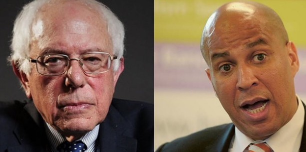 Bernie Sanders and Cory Booker Marijuana Justice Act