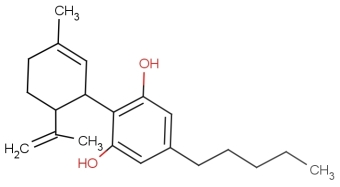 Cannabidiol_(CBD)_molecule_2D