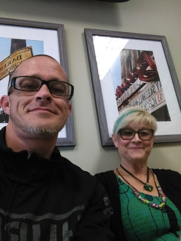 James Priest of CannaLance and Lisa High aka The Green Life Granny